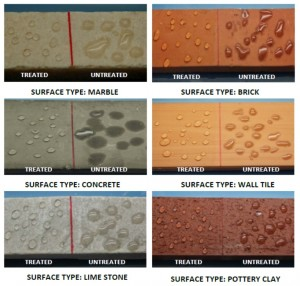 surface types